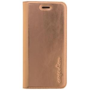CARPE DIEM Handytasche / Book Case für Apple iPhone 7 / 8 - Metallic Rose Gold