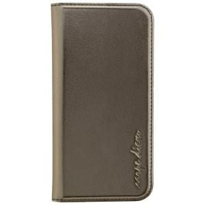 CARPE DIEM Handytasche Book Case für Samsung Galaxy A3 (2017) - Metallic Anthrazit