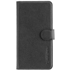 COMMANDER Handytasche BOOK CASE ELITE für Huawei Y7 - Black