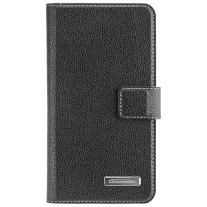 COMMANDER Handytasche BOOK CASE ELITE für Huawei Y3 2017 - Black
