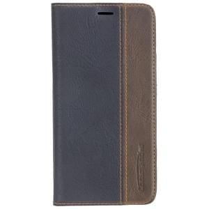 COMMANDER BOOK CASE Handytasche für Apple iPhone X / Xs - Gentle Black