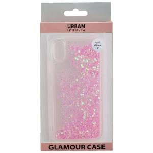URBAN STYLE Back Cover GLAMOUR für Apple iPhone X / Xs - Pink