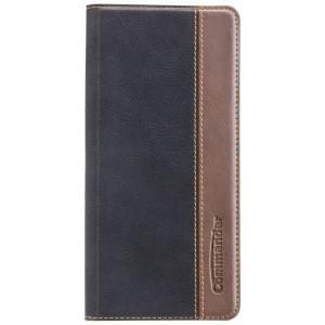 COMMANDER Handytasche BOOK CASE für Samsung Galaxy Note 8 - Gentle Black