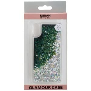 URBAN STYLE Back Cover GLAMOUR BLACK FRAME für Apple iPhone X / Xs - Gold
