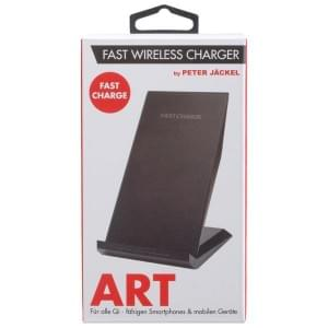 PETER JÄCKEL Qi Fast Charge Wireless Charger ART - Black