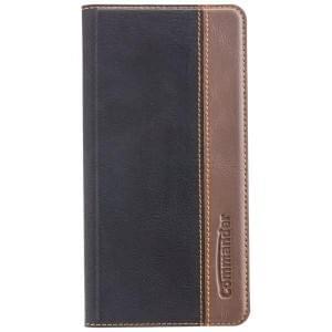 COMMANDER Handytasche BOOK CASE für Huawei Mate 10 Pro - Gentle Black