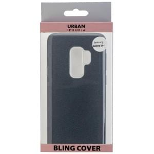 URBAN STYLE BLING COVER für Samsung Galaxy S9 Plus Schwarz
