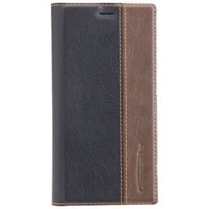 COMMANDER Handytasche BOOK CASE für Sony Xperia XA2 Gentle Black