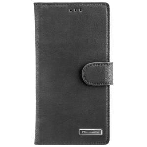 COMMANDER Handytasche BOOK CASE ELITE für Sony Xperia L2 - Black