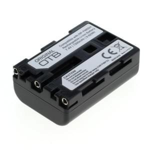 Ersatzakku ersetzt Sony NP-FM55H / NP-QM51 Li-Ion