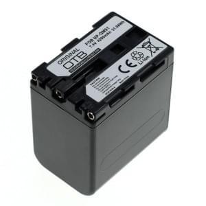 Ersatzakku ersetzt Sony NP-QM91 Li-Ion