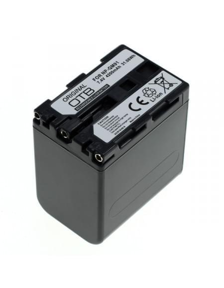CE zertifiziert Akku, Ersatzakku ersetzt Sony NP-QM91 Li-Ion