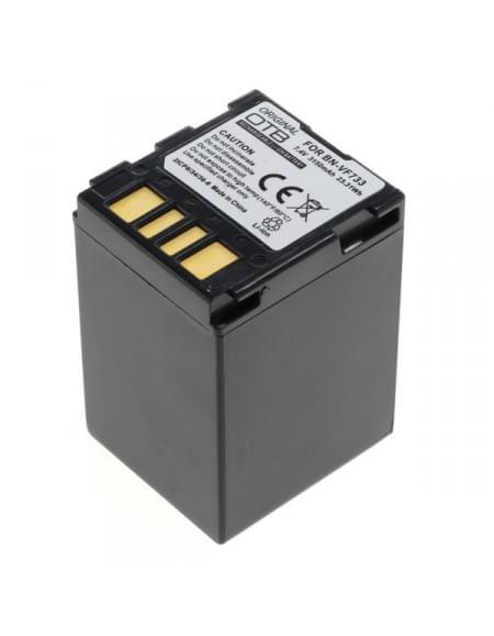 CE zertifiziert Akku, Ersatzakku ersetzt JVC BN-VF733 Li-Ion