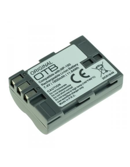 CE zertifiziert Akku, Ersatzakku ersetzt Fuji NP-150 Li-Ion