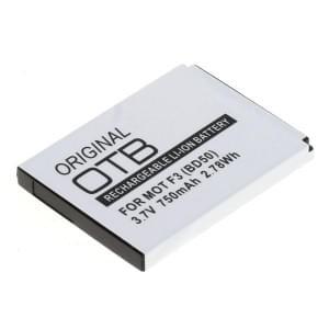 Ersatzakku BD50 für Motorola Motofone F3 Li-Ion