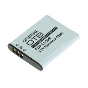 Ersatzakku ersetzt Olympus Li-50B / Pentax D-Li92 / Ricoh DB-100 Li-Ion