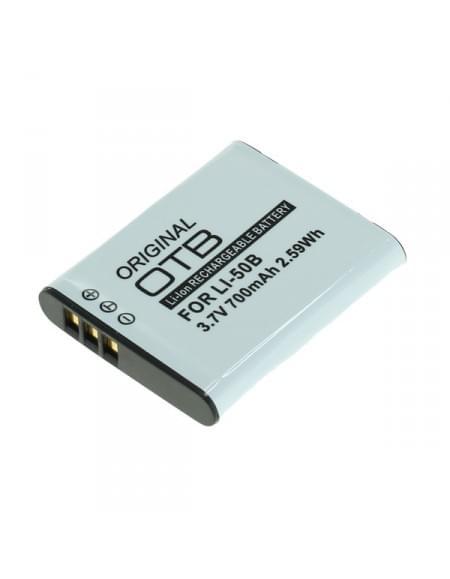 CE zertifiziert Akku, Ersatzakku ersetzt Olympus Li-50B / Pentax D-Li92 / Ricoh DB-100 Li-Ion