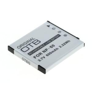 Ersatzakku ersetzt Casio NP-60 Li-Ion
