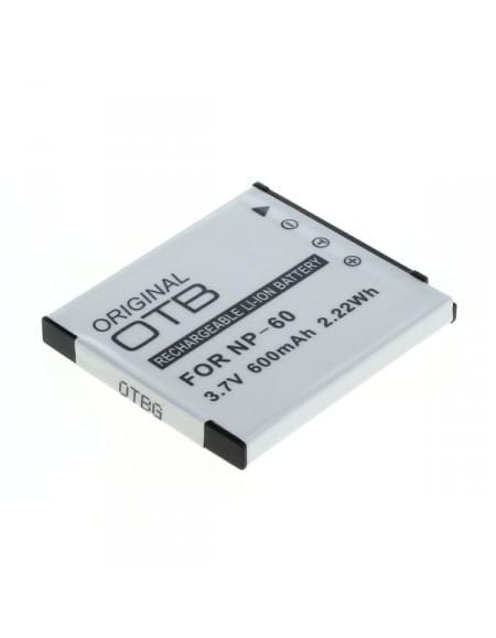 CE zertifiziert Akku, Ersatzakku ersetzt Casio NP-60 Li-Ion