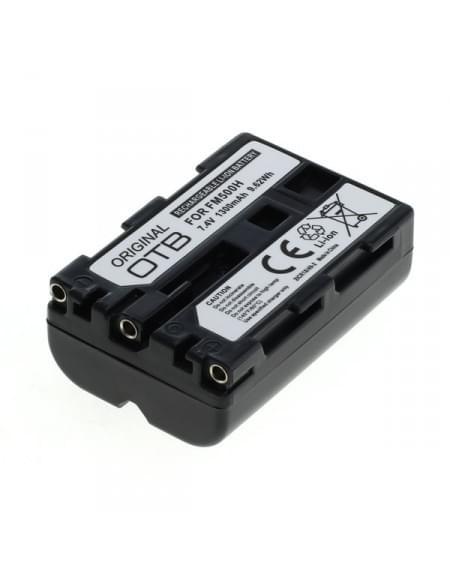 CE zertifiziert Akku, Ersatzakku ersetzt Sony NP-FM500H Li-Ion