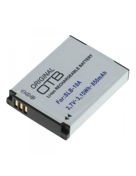 CE zertifiziert Akku, Ersatzakku ersetzt Samsung SLB-10A / JVC BN-VH105 Li-Ion - 850mAh