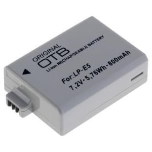 Akku / Ersatzakku ersetzt Canon LP-E5 Li-Ion