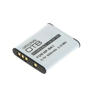 Ersatzakku ersetzt Sony NP-BK1 Li-Ion