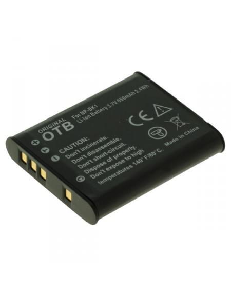 CE zertifiziert Akku, Ersatzakku ersetzt Sony NP-BK1 Li-Ion