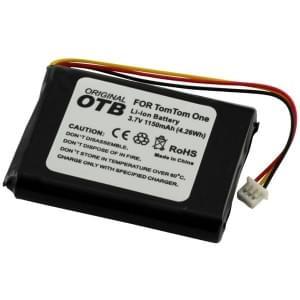 Ersatzakku für TomTom One / One Europe / Rider / V2 / V3 Li-Ion 1150mAh