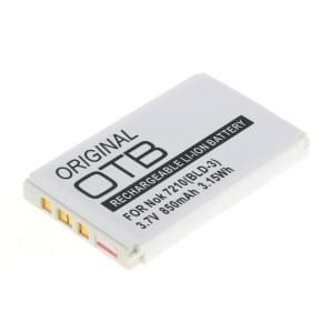 Ersatzakku BLD-3 für Nokia 2100 / 3200 / 3300 / 6610 / 7210 / 7250 / 7250i Li-Ion