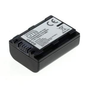 Ersatzakku ersetzt Sony NP-FH50 / NP-FP50 Li-Ion