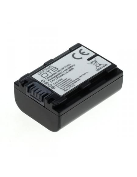 CE zertifiziert Akku, Ersatzakku ersetzt Sony NP-FH50 / NP-FP50 Li-Ion