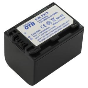 Ersatzakku ersetzt Sony NP-FH70 / NP-FP70 Li-Ion - 1500mAh