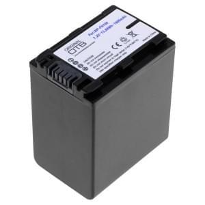 Ersatzakku ersetzt Sony NP-FH100 / NP-FP100 Li-Ion