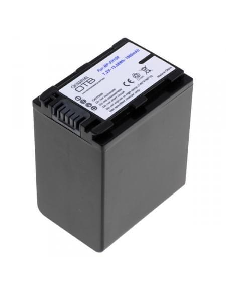 CE zertifiziert Akku, Ersatzakku ersetzt Sony NP-FH100 / NP-FP100 Li-Ion