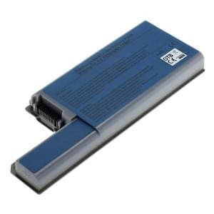Ersatzakku für Dell Latitude D531 / D820 / D830 mit 6600mAh Li-Ion metallic-grau