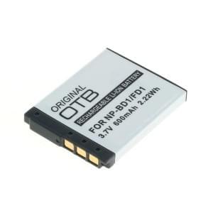 Ersatzakku ersetzt Sony NP-BD1 / NP-FD1 Li-Ion