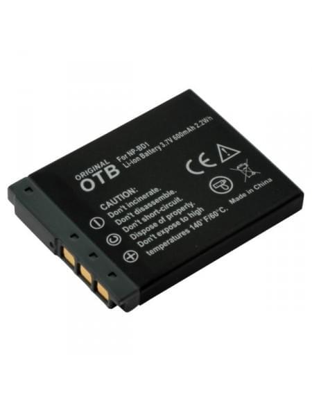 CE zertifiziert Akku, Ersatzakku ersetzt Sony NP-BD1 / NP-FD1 Li-Ion