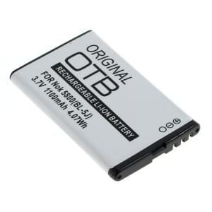 Ersatzakku BL-5J für Nokia 5228 / 5230 / 5800 XpressMusic / Asha 200 / 201 / C3-00 / N900 / X6-00 / X6 8GB / 520 Speedphone 701