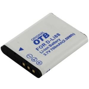 Ersatzakku ersetzt Pentax D-Li88 / Sanyo DB-L80 Li-Ion