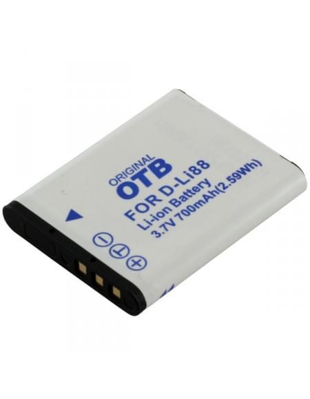 CE zertifiziert Akku, Ersatzakku ersetzt Pentax D-Li88 / Sanyo DB-L80 Li-Ion