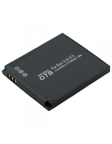 CE zertifiziert Akku, Ersatzakku ersetzt Samsung SLB-07A Li-Ion