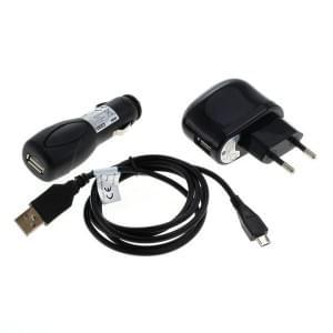 Zubehörset für micro USB - nur Ladefunktion