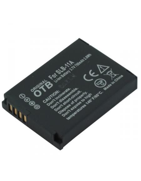 CE zertifiziert Akku, Ersatzakku ersetzt Samsung SLB-11A Li-Ion