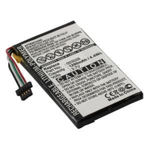 Ersatzakku für Navigon Max 2100 / 2110 / 2120 / 2120 / 2310 / 2150 Li-Polymer