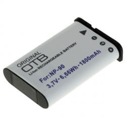 Akku / Ersatzakku ersetzt Casio NP-90 Li-Ion