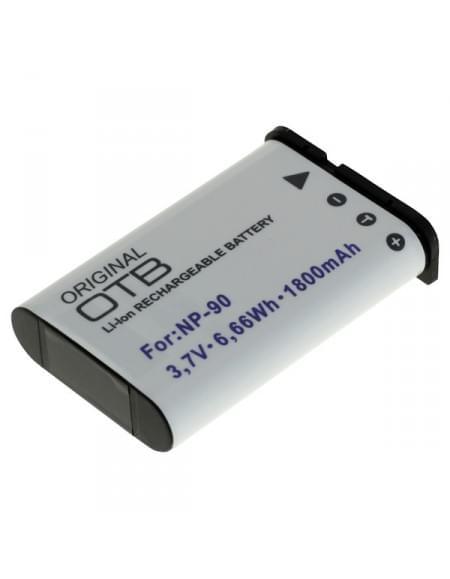 CE zertifiziert Akku, Ersatzakku ersetzt Casio NP-90 Li-Ion