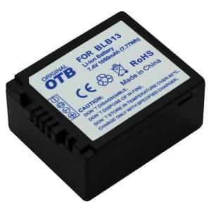 Ersatzakku für Panasonic DMW-BLB13/2 Li-Ion