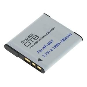 Ersatzakku ersetzt Sony NP-BN1 Li-Ion