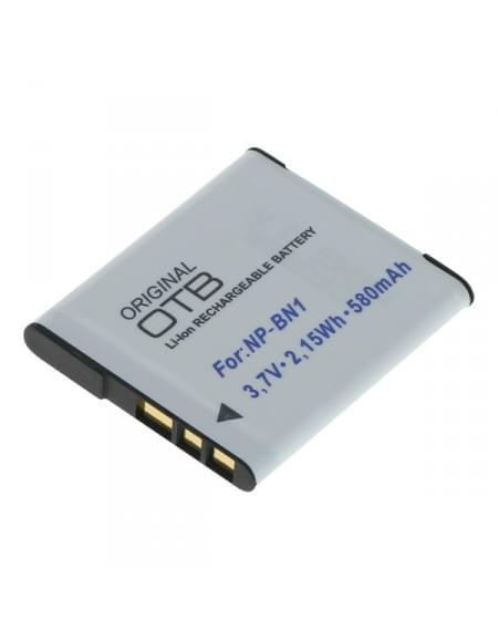 CE zertifiziert Akku, Ersatzakku ersetzt Sony NP-BN1 Li-Ion